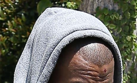 Kanye in a Hoodie