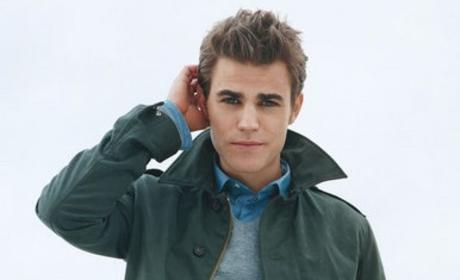 Paul Wesley in Teen Vogue