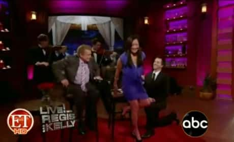 Carrie Ann Inaba: Engaged on TV!
