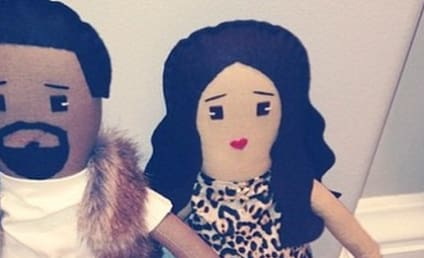 North West Has a Set of Kim and Kanye Dolls!
