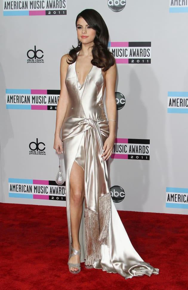 Selena Gomez at the AMAs