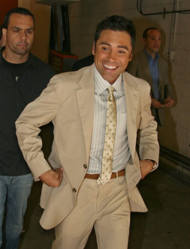 Good De la hoya stripper did not