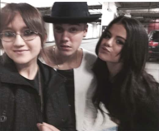 Justin Bieber and Selena Gomez on a Date