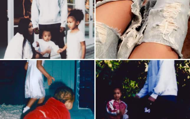 Kim kardashian returns to social media