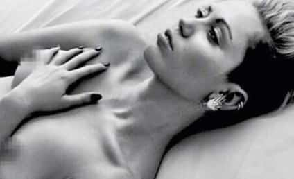 Miley Cyrus: Topless (Again) on Instagram!