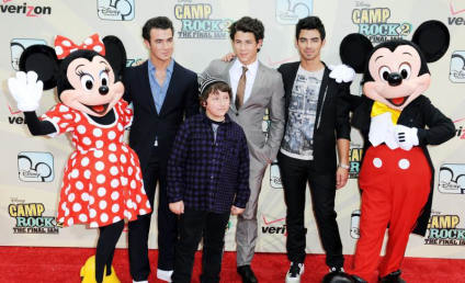 Camp Rock 2 Premiere Pics: Jonas Bros, Demi Lovato, Mickey Mouse and More!
