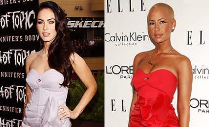 Fashion Face-Off: Megan Fox vs. Amber Rose
