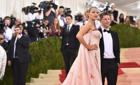 Blake Lively & Christopher Bailey: 2016 Costume Institute Gala