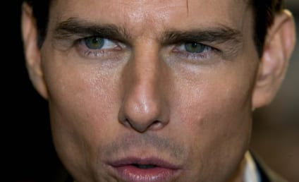 Tom Cruise, Connor Cruise Take in More Soccer