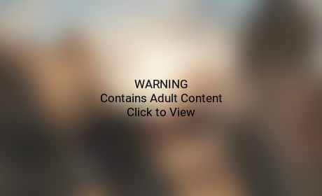 "Kim Kardashian Goes Topless for ""Bound 2"""