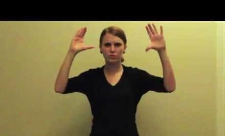 Lose Yourself Undergoes Amazing Sign Language Treatment