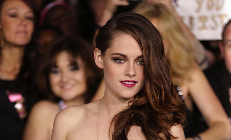 Grade Kristen Stewart's see-through dress at the Breaking Dawn premiere.
