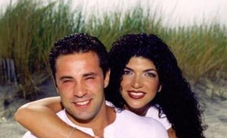 Joe and Teresa Giudice Throwback Photo