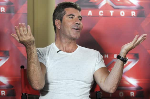 Simon Cowell Interview Pic