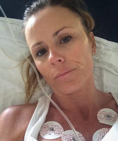 Trista Sutter in Hospital