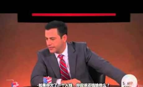 Jimmy Kimmel China Skit
