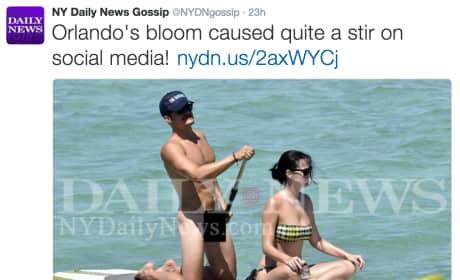 Orlando Bloom NY Daily News Pic