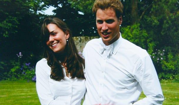 Vintage Kate Middleton and Prince William