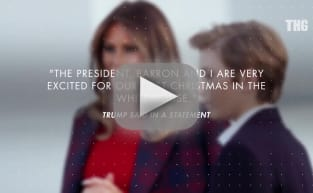 Melania Trump Shows Off Decorated White House