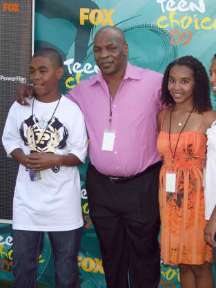 Mike Tyson and Kids