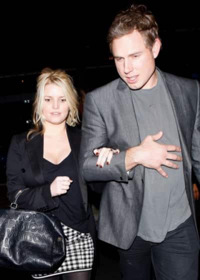 Eric Johnson With Jessica Simpson