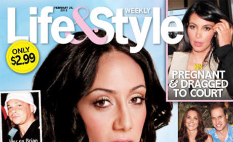 Melissa Gorga Tabloid Cover