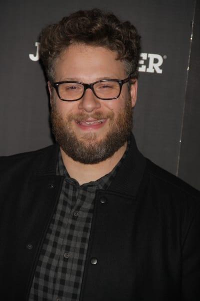 Seth Rogen at Movie Premiere
