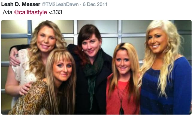 Leah Messer, Kailyn Lowry, Jenelle Evans, and Chelsea Houska