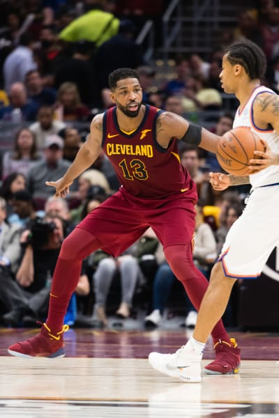 Tristan Thompson Plays the Knicks