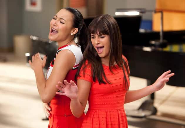 Naya Rivera and Lea Michele Photo