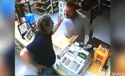 Clerk Thwarts Robber, Pushes Gun Back in His Face, Tells Him to Put Out Cigarette