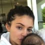 Kylie Jenner Cradles Stormi Webster
