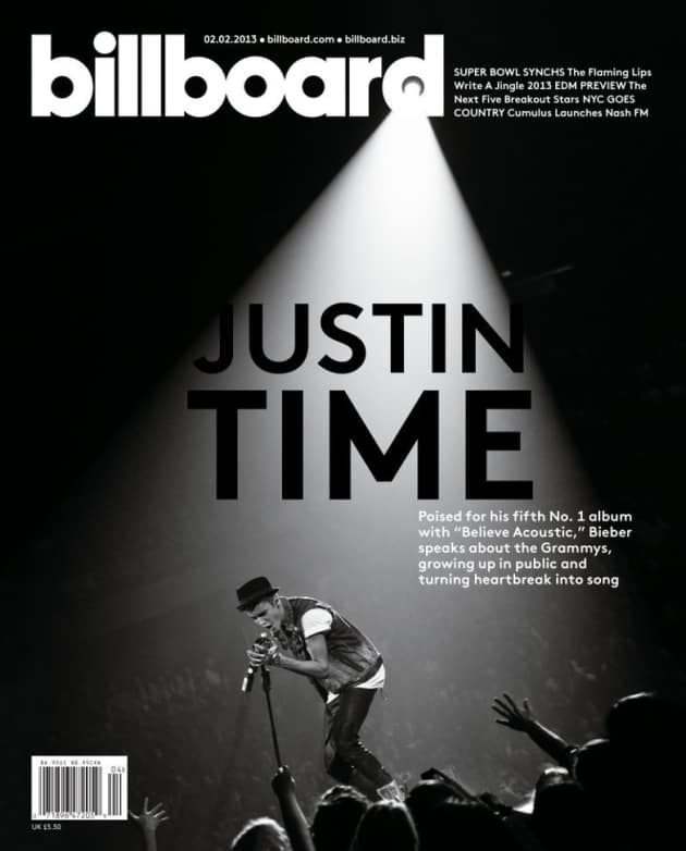 Justin Bieber Billboard Cover