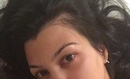 Kourtney Kardashian: No Makeup on Instagram!