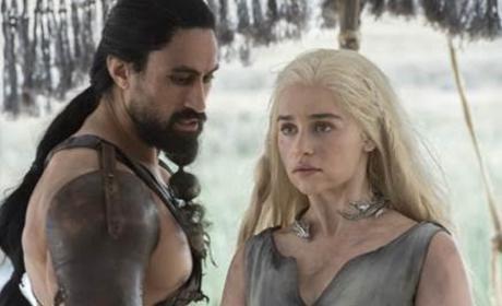 Daenerys and the Dothraki