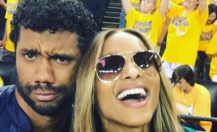 Ciara and Russell Wilson: Oh, We Banged, Alright!