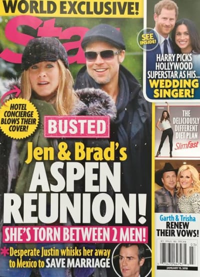 Brad Pitt Jennifer Aniston Reunited Engaged The