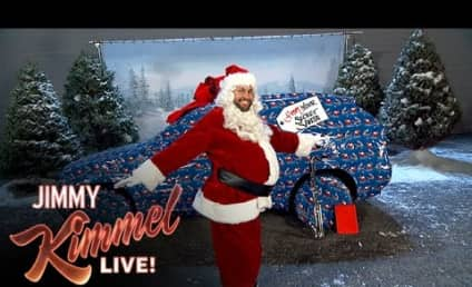 Jimmy Kimmel Pulls AMAZING Christmas-Themed Prank on John Krasinski