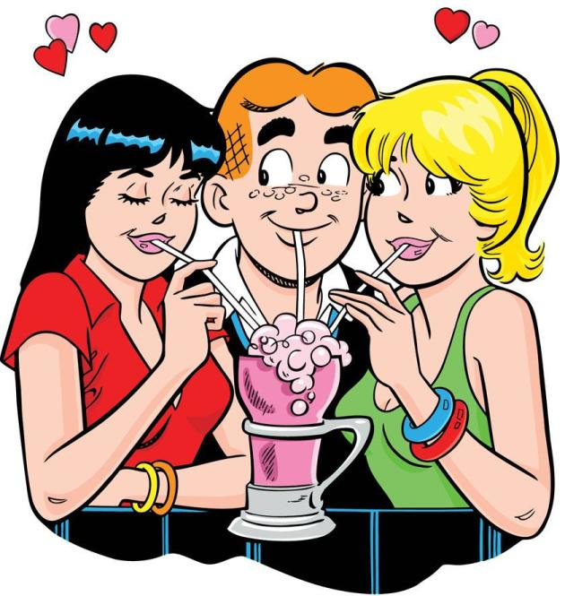 Archie, Betty, and Veronica
