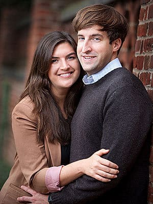 Cate Edwards and Trevor Upham Picture