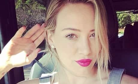 """Hilary Duff """"Before"""" Photo"""