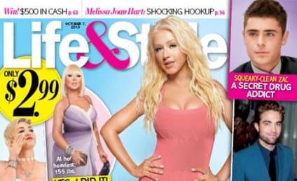 Christina Aguilera Flaunts Thin Figure, Dishes Diet Secrets