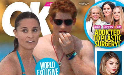 "Prince Harry & Pippa Middleton: ""Secretly Dating!"" Totes Loved Up!"