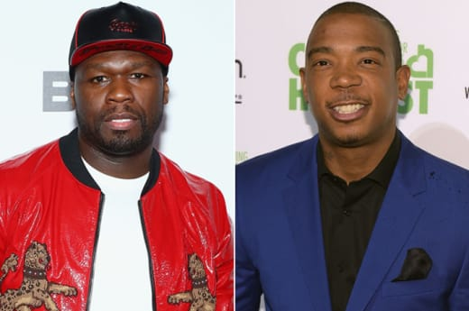 50 Cent and Ja Rule