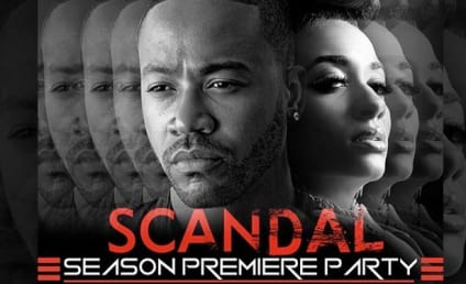 Columbus Short: Hosting Scandal Premiere Party Despite Being Killed Off Show!