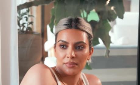 Kim Kardashian Kicks Back