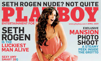 Coming Soon to Playboy: Seth Rogen, Hope Dworaczyk Nude