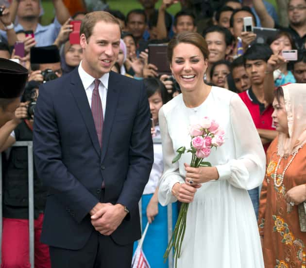 The Prince and Kate Middleton