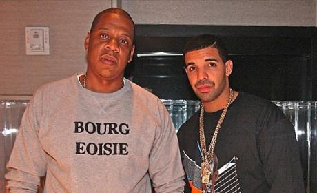 Drake and Jay-Z Photo