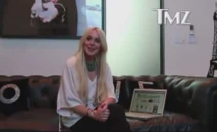 Lindsay Lohan Films Online Ad During House Arrest
